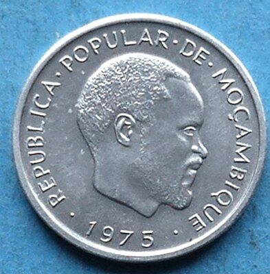 ! MOSAMBIK MOCAMBIQUE MOZAMBIQUE CENTIMO 1975 not placed into circulation