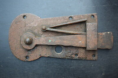 Reclaimed Georgian Bow Latch old vintage door lock victorian edwardian antique