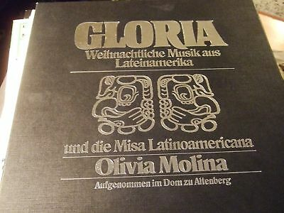 Olivia Molina : Gloria Misa Latinamericana 2Lp Box Prisma Germany