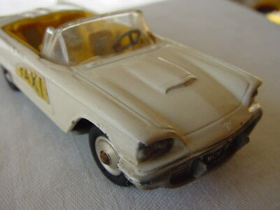 CORGI 430 FORD THUNDERBIRD BERMUDA TAXI -EXCELLENT CONDITION 1962 (see my items)