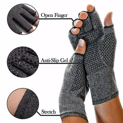 Compression Gloves-Arthritis Pain Relief Cold Swollen Hand Stiffness Circulation