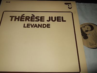 Therese Juel : Levande Audiophile Lp 1979 Opus 3 Sweden