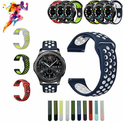 Band Wrist Watch Strap For Samsung Gear S2 S3 Sport Classic Frontier 21mm 22mm A