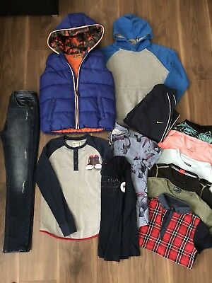 ⭐️ Bundle Of Boys Clothes Size 8-9 / 9-10 Years Next, Converse, Ralph Lauren ⭐️