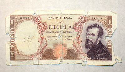 10.000 Lire, Bank of Italy, 1963.-72.