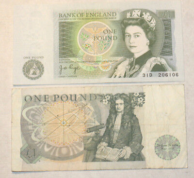 2x1 Pound, Bank of Great Britain, 1978.-84.