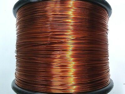 "Essex Magnet Wire, 14 AWG Gauge, 0.0675"" 4oz 20ft, Enameled Copper Coil Winding"