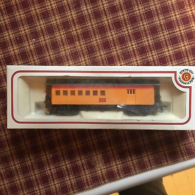 Bachmann HO Scale Vintage 47' Old Time combine Union Pacific #9  CLEAN