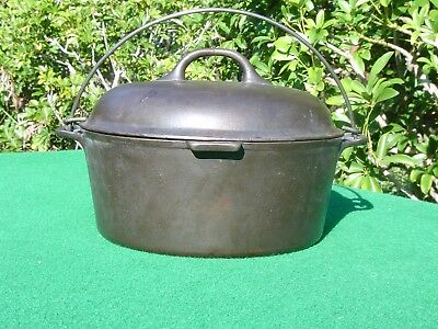 Antique #8 DIAMOND MARK Cast Iron Dutch Oven