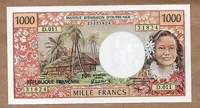 TAHITI - PAPEETE - 1000 FRANCS - ND1985 - P27d - UNCIRCULATED