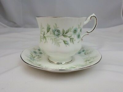 Teacup and Saucer by Paragon in Debutante Pattern
