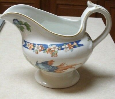 Wood & Sons Ltd WOO1 Gravy Boat England Bird Floral