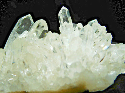 A Small Super Nice & Very Translucent AAA Quartz Crystal Cluster Brazil 99.8gr
