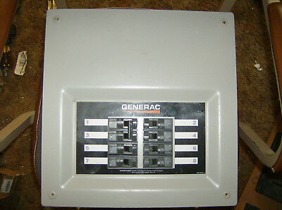 Generac OK7618B 8 circuit 50 amp 120/240V Transfer Switch
