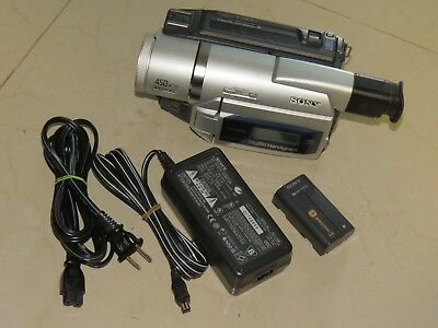 Sony DCR-TRV520 Digital8 Camcorder. Plays Transfers Records Video 8 Hi8 Tapes @@