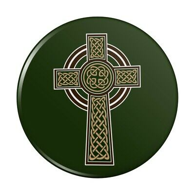 Celtic Christian Cross Irish Ireland Compact Pocket Purse Hand Makeup Mirror