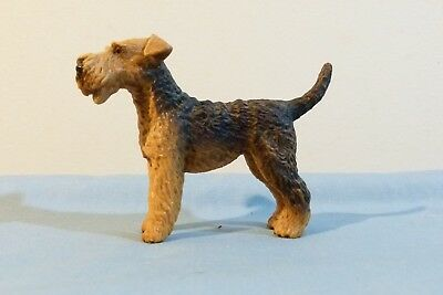 Rare and Retired Schleich Airedale Collectible Dog # 16336