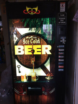 Beer vending machine, Rock-Ola, with Remote to add credits - Make Offer