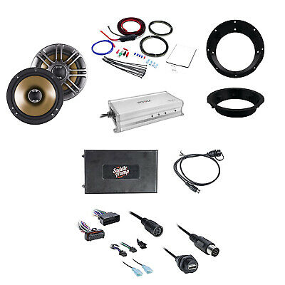Metra Bluetooth Audio Interface W/Speakers,Mounting Ring, Amplifier & Power Kit