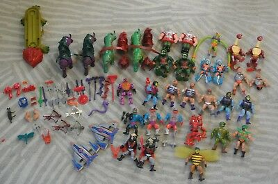 He-man MOTU masters of the universe massive job lot collection bundle 80's