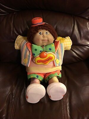 Coleco Cabbage Patch Doll in Circus Kids Outfit 1985 Red Tush signature #11 Face