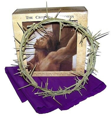 Crown of Thorns/ Authentic Crown of Thorns From the Holy Land - in gift box New
