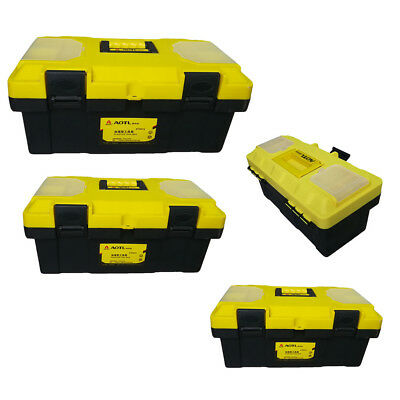 Lockable Tool Box 3 Sizes Project Source Black Plastic Removable Tray