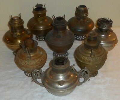 BOXLOT Miller B&H P&A Pittsburgh CenterDraft Wall Bracket Hanging Oil Lamp Fonts