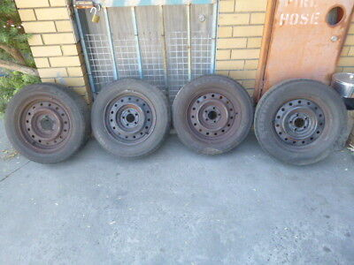 Ford Falcon AU-BA Tyres and Rims 215/65 R16