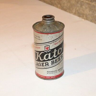 Kato Lager Beer IRTP LP Cone Top - 4% by Volume