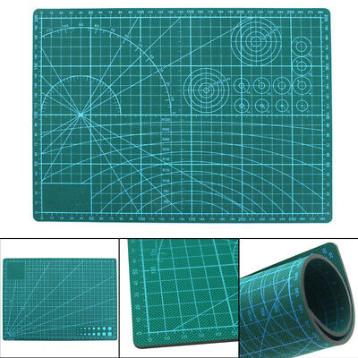 A2-A5 PVC Self Healing Cutting Mat For Craft Quilting Grid Line Printed Board F2