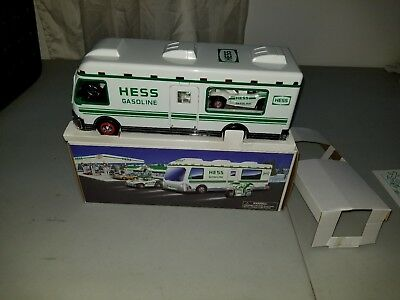 1998 Hess Truck Recreation Van with Dune Buggy and Motorcycle new in box