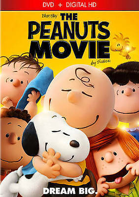 The Peanuts Movie DVD + Digital HD - BRAND NEW & FACTORY SEALED! Free Shipping
