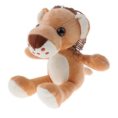 Anima Tiger Lion Giraffe Stuffed Animated Baby Doll Soft Plush Kid Childrens Toy
