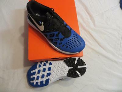 Nike Men's Train Speed 4 Sz 10 Duke Blue/ Back (844102 410) Ret$110 Nib
