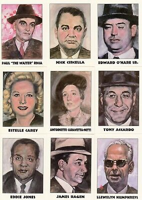 True Crime Series Ii 2 1992 Eclipse Complete Base Card Set Of 110 Ms Murderers