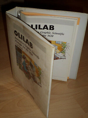 Olilab Interactive Graphic Scientific Package for the M20 - User Guide