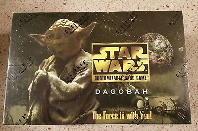 Star Wars CCG Dagobah Expansion Limited BB Booster Box Decipher Factory-Sealed