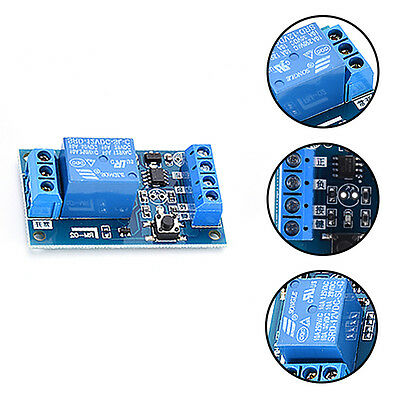 DC 5V/12V/24V 1 Channel Latching Relay Module With Touch Bistable Switch uk.