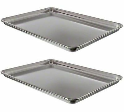 Vollrath 9303 Wear-Ever Half-Size Sheet Pans, Set of 2 (18-Inch by 13-Inc... New