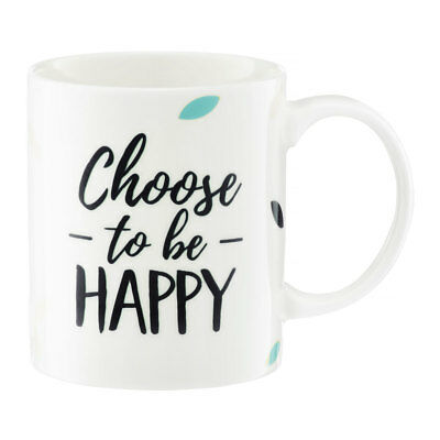 63486 Ambition Nordic Choose To Be Happy - Becher Trinkbecher 350 ml