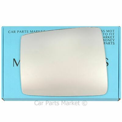 Right Driver side Wing mirror glass for Nissan Patrol Y61 1998-09 Heated