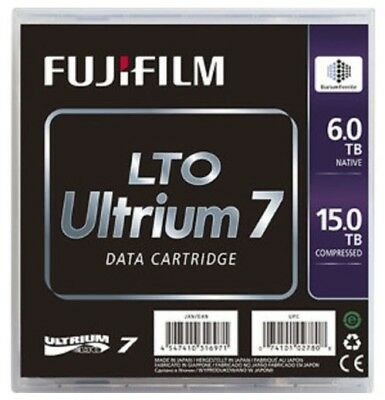 FUJIFILM 5 x LTO7 ULTRIUM 6.0TB / 15.0TB RW BAFE DATA CARTRIDGE (71036)