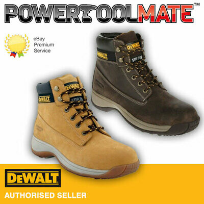 DeWalt Apprentice Safety Boots - Honey/Brown - Size 4 TO 13
