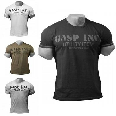 GASP Fitness und Workout T-Shirt, Fitness-Shirt, Sport-Shirt