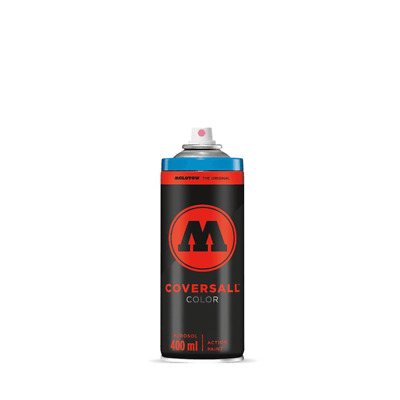 Molotow Coversall Color Spray Paint - Semi-Gloss, High Pressure - 400ml Can