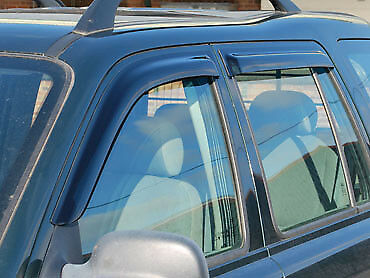 Land Rover Freelander 1- Wind Deflector Set - Front and Rear - DA6077
