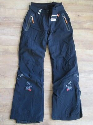 ROSSIGNOL Womens Black JCC Panther Ski Pants Trousers Ladies Small BNWT