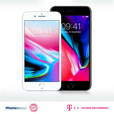 Apple iPhone 8 | 8 Plus | 64 GB | Telekom Magenta Mobil M / Young Vertrag