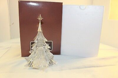 Avon Gallery Originals Crystal Christmas Tree With Silver Tone Star New In Box